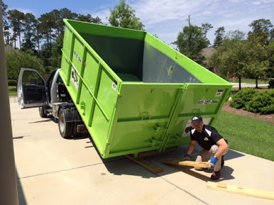 Landscaping Cleanup Made Quick & Easy With Bin There Dump That – Southeast Louisiana Dumpster Rentals